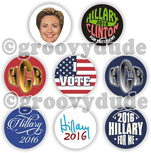 Trump and Clinton Halloween Costumes - Choose Edgy or Funny - 8 Hillary R Clinton 2016 For President 1