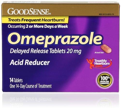 GoodSense Acid Reducer, 20 mg Omeprazole Delayed Release Tab