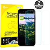IPhone 6s Plus Screen Protector, JETech 2-Pack Premium Tempered Glass Screen Protector Film For Apple IPhone 6...