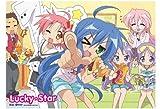 Lucky Star Girls Wall Scroll