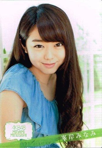 【トレーディングカード】《AKB48 トレーディングコレクション Part2》 峰岸みなみ ノーマルキラカード akb482-r115 トレカ