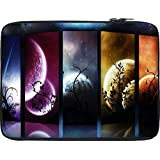 Snoogg Planets And Moon Slides 2684 12 To 12.6 Inch Laptop Netbook Notebook Slipcase Sleeve