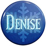 Henry The Buttonsmith Denise Winter Ice Name Tag