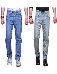 X-CROSS Men's Slim Fit Jeans Combo (Pack Of 2) - B0132WVV9G