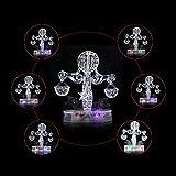 Bisboom(TM) Flash Light Puzzle 3D Crystal Libra Constellation Series