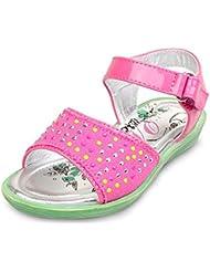 IDuoDuo Girls Sweet Princess Retro Little Twinkle Rhinestones Buckle Salsa Dress Sandals Toddler Little Kid Big...