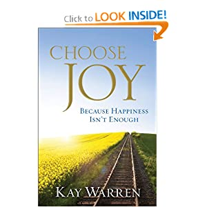 Book Review:  Choose Joy Because Happiness Isn't Enough