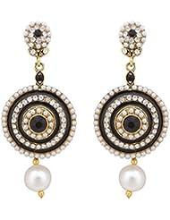 Kundans Earrings Antique Jewellery Polki Earrings Jewellery SetsABEA0390KA