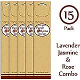 Panchratan Perfumed Charcoal Incense Sticks ( Pack Of 15, 23cms, Lavender, Jasmine And Rose Fragrance )