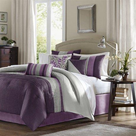 purple bedding sets