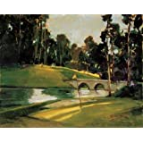 The 9th Tee By Goerschner, Ted - Fine Art Print On Archival PAPER : 24 X 19.5 Inches