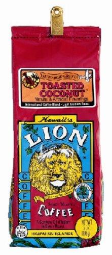 ライオンコーヒー トーステッドココナッツ フレーバー 198g(粉)