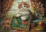 Perre Group Teachers Cat Jigsaw Puzzle (260-Piece)