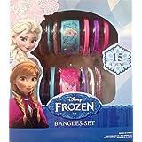 Disney Frozen Bangles Set 15 Coun