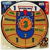 Sport Darts Basketball Dart Board Game With Easy Stick Velcro Balls