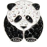 Bella Crystal Collection-USA Bella Crystal Panda Hat Clip Set