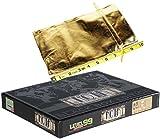 NOIR Black Box Edition Deductive Mystery Game _Bonus Gold Cloth 6 x 10 Inch Drawstring Storage Pouch _ Bundle