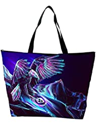 Snoogg Abstract Eagle Designer Waterproof Bag Made Of High Strength Nylon