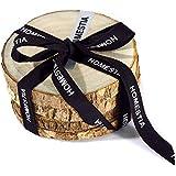 Generic 4 Pcs 7-10cm Handmade Natural Camphor Wood Coasters Tree Bark Wood Slice Disc Tea Cup Mat Annual Ring...