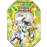 2009 Pokemon TCG Collectors Tin: Arceus With Arceus LV.X Card (4 Packs + Foil Promo Card)