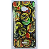 FCS Designer Back Case For InFocus Bingo 50 With Print In Glossy Finish Design-5