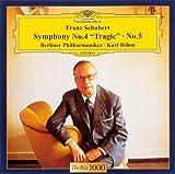 シューベルト:交響曲第4番「悲劇的」&第5番
