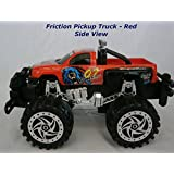 Red Bugbear Power Champion Friction Big Wheel Super Power Pickup Truck