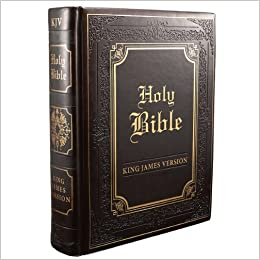 King James Version Edition Family Bible: Faux Leather
