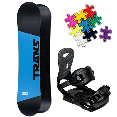 TRANS RENTAL KINDER SNOWBOARD SET ~ 146 CM + FTWO TEAM BINDUNG GR. M + PAD