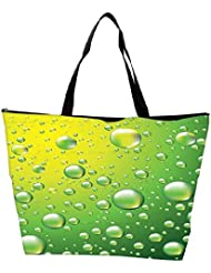 Snoogg Dew Drops Vector Background Waterproof Bag Made Of High Strength Nylon