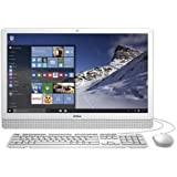 Dell Inspiron I3455-2440WHT 23.8 Inch Touchscreen All In One (AMD A8, 8GB RAM, 1 TB HDD, Windows 10)