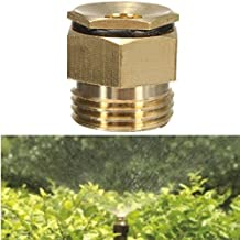 Generic 01 : New 10Pcs 360 Degrss Garden Sprinkle Connector Thread Water Sprinkler Irrigation Spray Nozzle Watering...