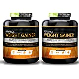 Advance Nutratech Weight Gainer Chocolate 12 Lbs. Chocolate(Pack Of 2x6lbs )