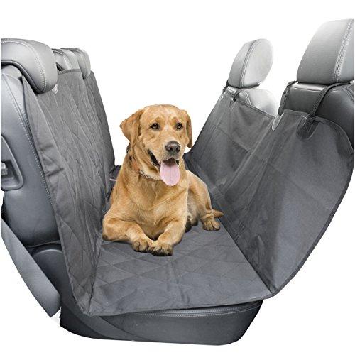 Sidekick cubierta de coche para asiento de mascotas con arnés...
