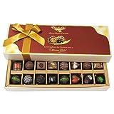 Chocholik Belgium Gift - Amazing Combination Of 8 Dark And 8 Milk Chocolate Box