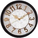ECraftIndia Decorative Retro Wall Clock - 12 Inch