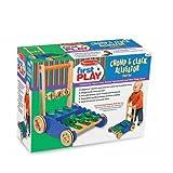 Melissa & Doug Deluxe Chomp & Clack Alligator Push Toy