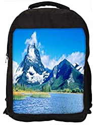 """Snoogg Abstract Nature View Casual Laptop Backpak Fits All 15 - 15.6"""" Inch Laptops"""