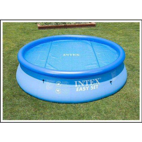 Intex Solarabdeckplane für Easy & Frame Pool, Blau, Ø 305 cm