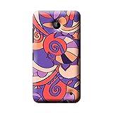 Garmor Multi Colorful Design Plastic Back Cover For Nokia Lumia 630 (Multi Colorful - 3)