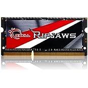 G.SKILL Ripjaws Series 8GB 204-Pin DDR3 SO-DIMM DDR3 1866 PC3 14900 Laptop Memory Model F3-1866C11S-8GRSL