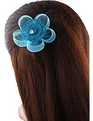Anuradha Art Blue Colour Beautiful Stylish Hair Accessories Hair Clip For Women/Girls