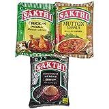 Chicken Masala 100gm + Mutton Masala 100gm + Black Pepper Powder 100gm