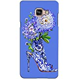 PrintVisa Designer Back Case Cover For Samsung Galaxy On Max (A Girls Footwear Decorated)