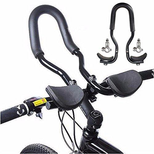 LOPEZ Outdoor Mountain Road Bike MTB Bicycle Rest Handlebar Aero Bar Aerobar Handlebar for Triathlon Time Trial Cycling Racing