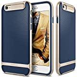 IPhone 6S Case, Caseology [Wavelength Series] [Navy Blue] Textured Pattern Grip Cover [Shock Proof] For Apple...