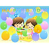Happy Birthday POSTER ON FINE ART PAPER HD QUALITY WALLPAPER POSTER