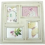 SAI JAGANNATH Glass Photo Frame (45 Cm X 4 Cm X 45 Cm, White)