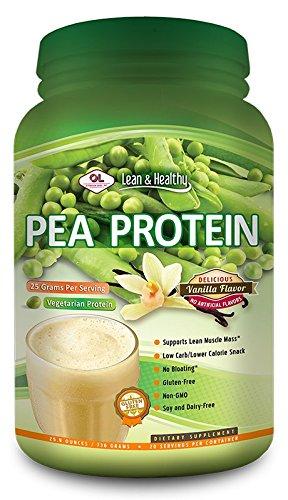 Olympian Labs Pea Protein Vanilla Bean - 20 Servings