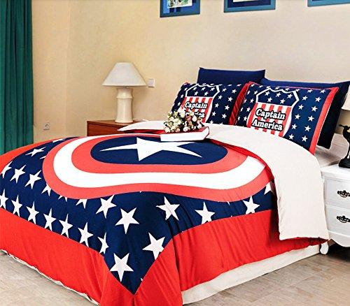 Captain America Single Bedding